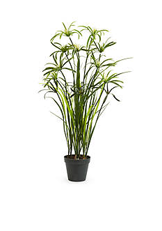 Nearly Natural 3-ft. Papyrus Silk Plant