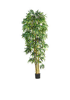 Nearly Natural 8-Foot Biggy Style Bamboo Tree