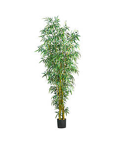Nearly Natural 8-Foot Fancy Style Bamboo Silk Tree