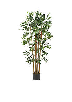 Nearly Natural 4-Foot Multi Bambusa Bamboo Silk Tree