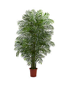 Nearly Natural 7.5-Foot Areca Palm Tree UV Resistant -Indoor/Outdoor