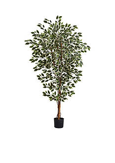 Nearly Natural 6-Foot Hawaiian Ficus Tree
