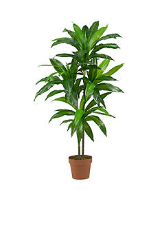 Nearly Natural 43-in. Real Touch Dracaena Silk Plant
