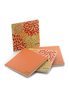 Fiesta® Tangerine/Warm Calypso Coasters Set of 4
