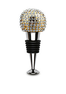 Thirstystone Gold Single Ball Bling Wine Stopper