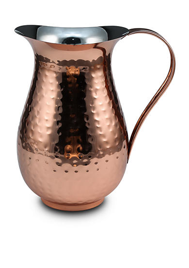 Thirstystone Hammered Copper-finish Pitcher