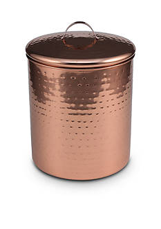Thirstystone Hammered Copper Finish Small Canister