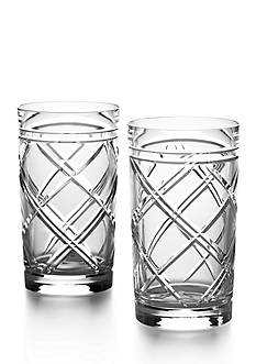 Ralph Lauren Brogan Classic Crystal Highball Set