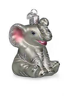 Old World Christmas 3-in. Little Elephant Ornament