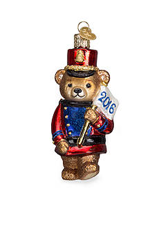 Old World Christmas 4.25-in. 2016 Marching Teddy Bear Ornament