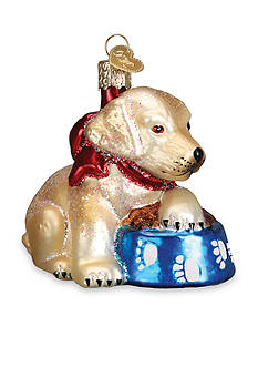 Old World Christmas 3-in. Lab Puppy Ornament