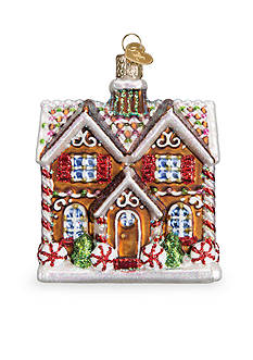 Old World Christmas 3.75-in. Christmastime Cottage Ornament
