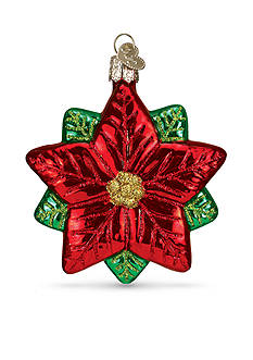 Old World Christmas 3.5-in. Poinsettia Star Ornament