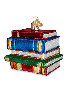 Old World Christmas 2.5-in. Stack of Books Ornament