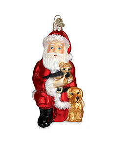 Old World Christmas 4.75-in. Santa's Best Friend Ornament