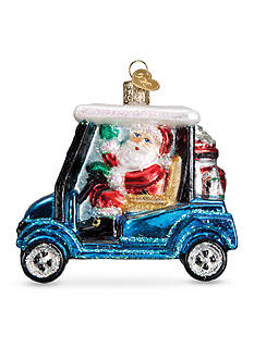Old World Christmas 3.5-in. Golf Cart Santa Ornament