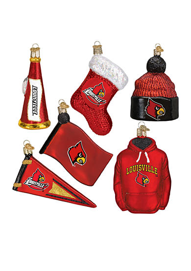 Old World Christmas® 6-Piece University of Louisville Ornament Set
