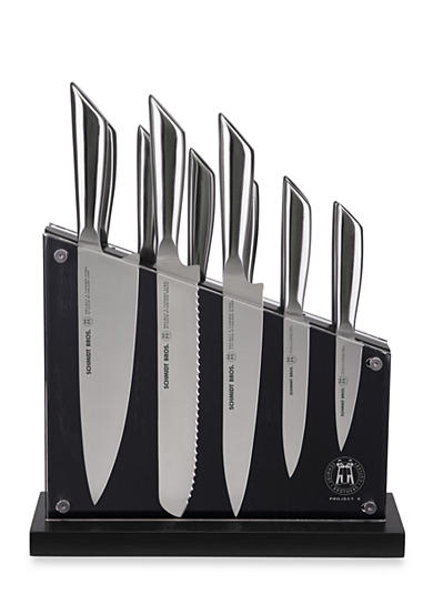 Schmidt Brothers Cutlery® Project X Tapered Steel 12-Piece Set