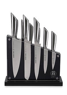 Schmidt Brothers Cutlery Project X Tapered Steel 12-Piece Set