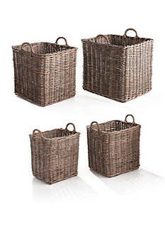 Napa Home & Garden™ Normandy Square Apple Baskets set of 4