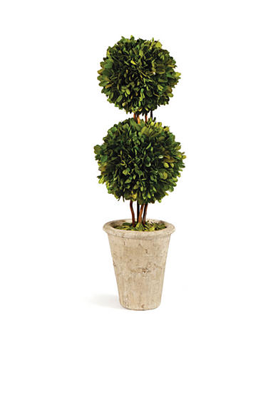 Napa Home & Garden™ 20-in. Double Sphere Boxwood Topiary