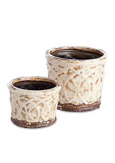 Napa Home & Garden 2-Piece Churchill Pot Set