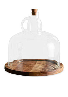 Napa Home & Garden™ 15.5-in. H Mill Valley Cheese Board with Cloche