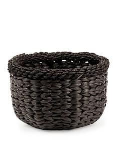 Napa Home & Garden™ 7.5-in. H Water Hyacinth Magda Round Basket