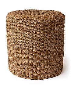 Napa Home & Garden™ Seagrass Round Pouf