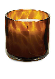 Napa Home & Garden™ Tortoise Glass Poured Candle