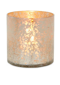 Napa Home & Garden™ 4-in. H Crackle Glass Hurricane