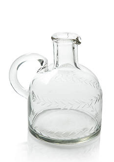 Napa Home & Garden™ 5-in. Etched Glass Jug