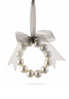Napa Home & Garden™ 4.75-in. Pearl Wreath Ornament