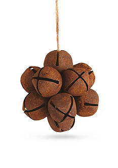 Napa Home & Garden™ 4.25-in. H Rust Jingle Bell Ball Ornament