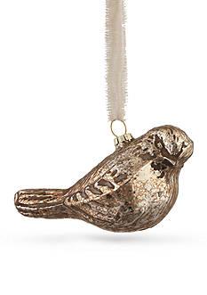 1.5-in. H Glass Bird Ornament