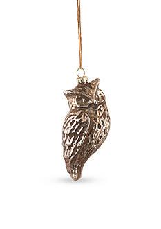 Napa Home & Garden™ 5.25-in. H Owl Glass Ornament