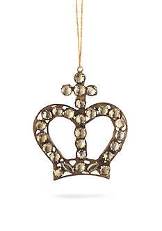 Napa Home & Garden™ 5-in. Vintage Pearl Crown Ornament