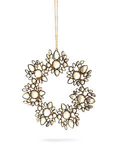 Napa Home & Garden™ 6-in. Vintage Jeweled Wreath Ornament
