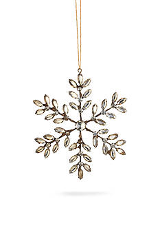 Napa Home & Garden™ 7.5-in. Vintage Jeweled Snowflake Ornament