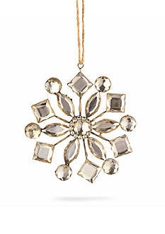 Napa Home & Garden™ 4-in. Vintage Jeweled Snowflake Ornament