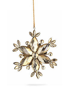 Napa Home & Garden™ 5-in. Vintage Jeweled Snowflake Ornament