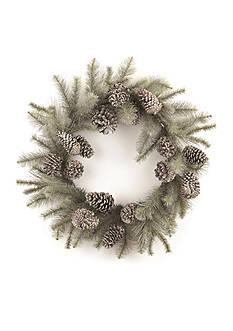 Napa Home & Garden™ 32-in. Vintage Glitter Pine Wreath