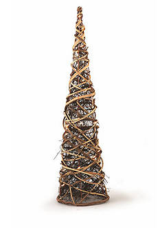 Napa Home & Garden™ 36-in. Lighted Grapevine Cone Tree