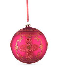 Napa Home & Garden™ 4.75-in. Orange Glass Ball Ornament