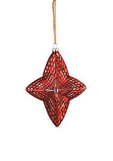 Napa Home & Garden™ 6.25-in. H Reflector Star Glass Ornament