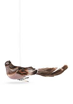 Napa Home & Garden™ 9.5-in. Long Tailed Song Bird Clip Ornament