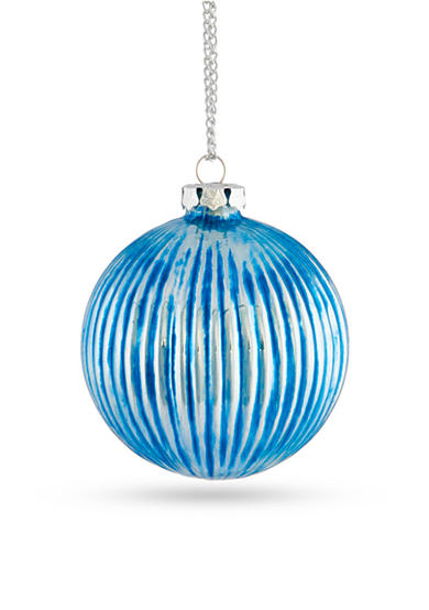Napa Home & Garden™ 3-in. H Ribbed Glass Ball Ornament