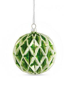 Napa Home & Garden™ 4.25-in. Veranda Diamond Glass Ball Ornament