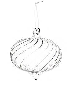 Napa Home & Garden™ 7-in. Swirl Pendant Glass Ornament