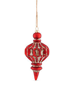 Napa Home & Garden™ 6-in. H Vintage Glass Spindle Ornament